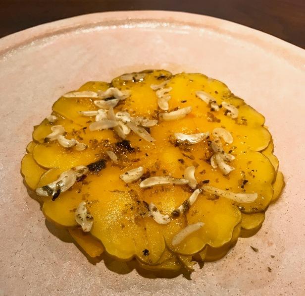 Pumpkin—pumpkin seed, nori,cashew