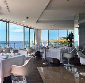 Restaurant indoor seating